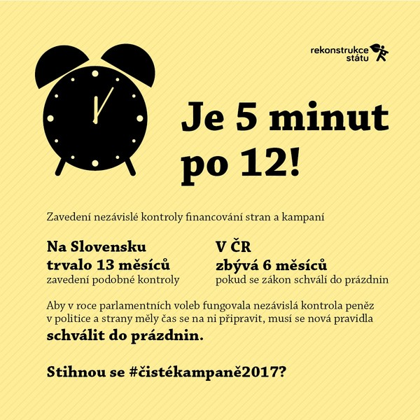 Chci #čistékampaně2017!